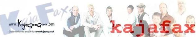 Kim Wilde - Interview avec Kajafax dans Divers kajafax